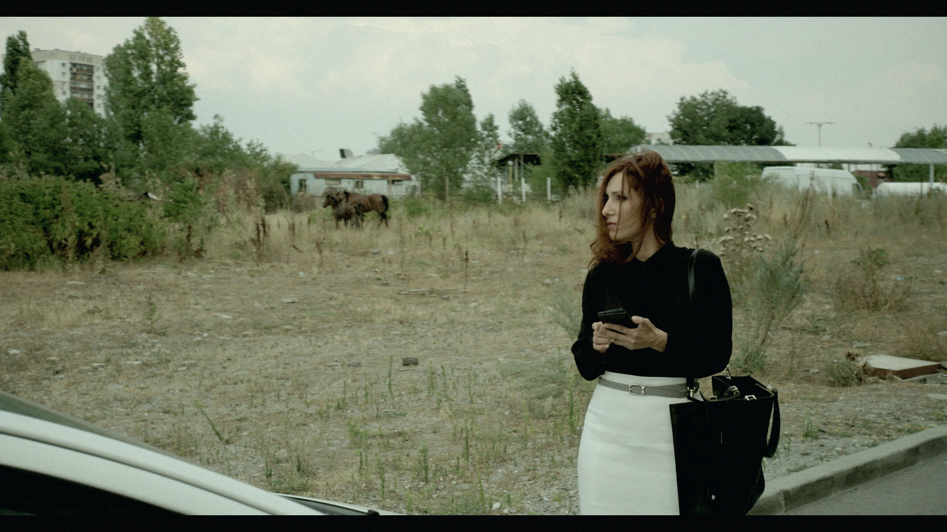 Margita Gosheva as Julia Staykova in Petar Valchanov & Kristina Grozeva's GLORY.  Courtesy of Film Movement.